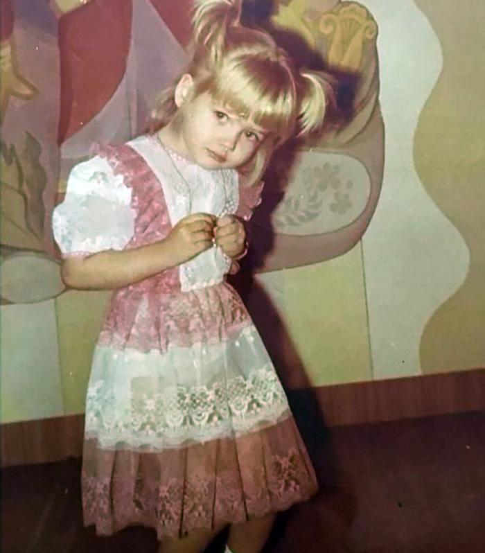 Валерия Соколова в детстве
