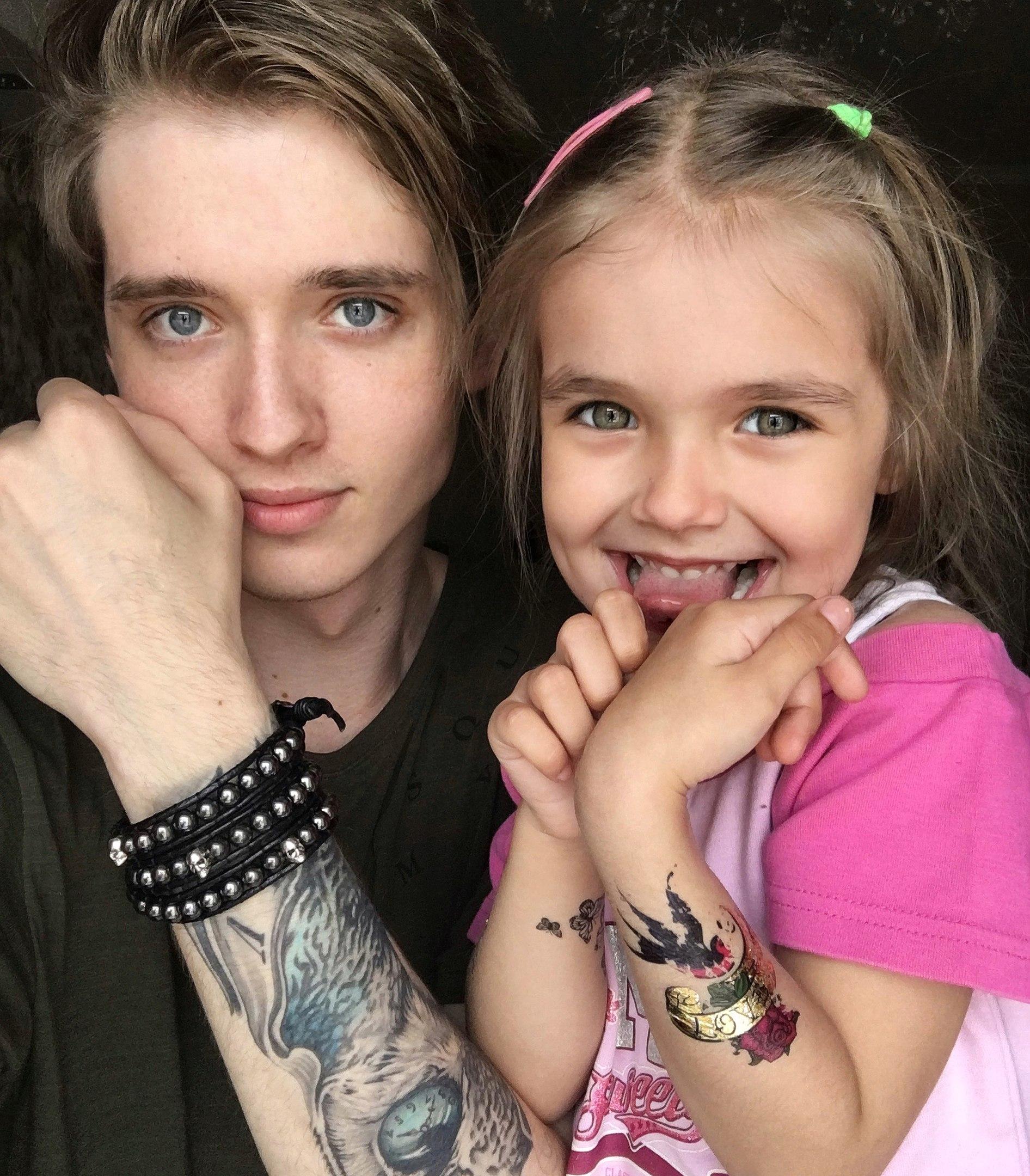 Макс Ващенко с сестрой
