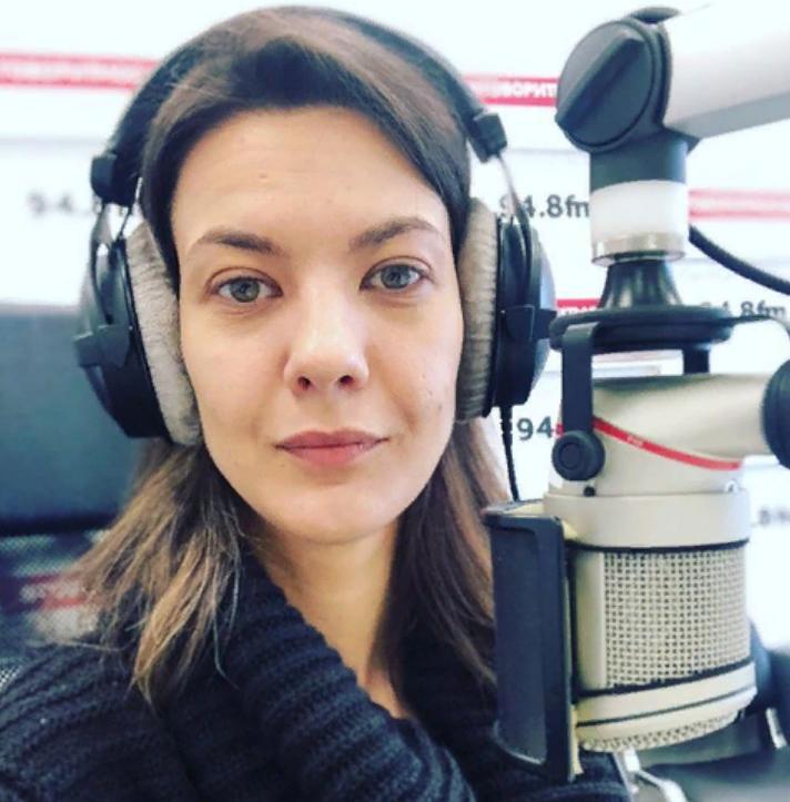 Надана Фридрихсон на радио