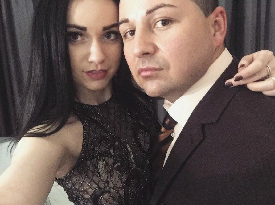 Инна Вальтер с мужем
