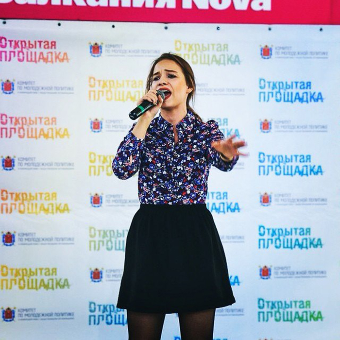 Марианна Кочурова на конкурсе открытая площадка