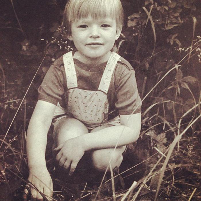 Дуся Бубель в детстве
