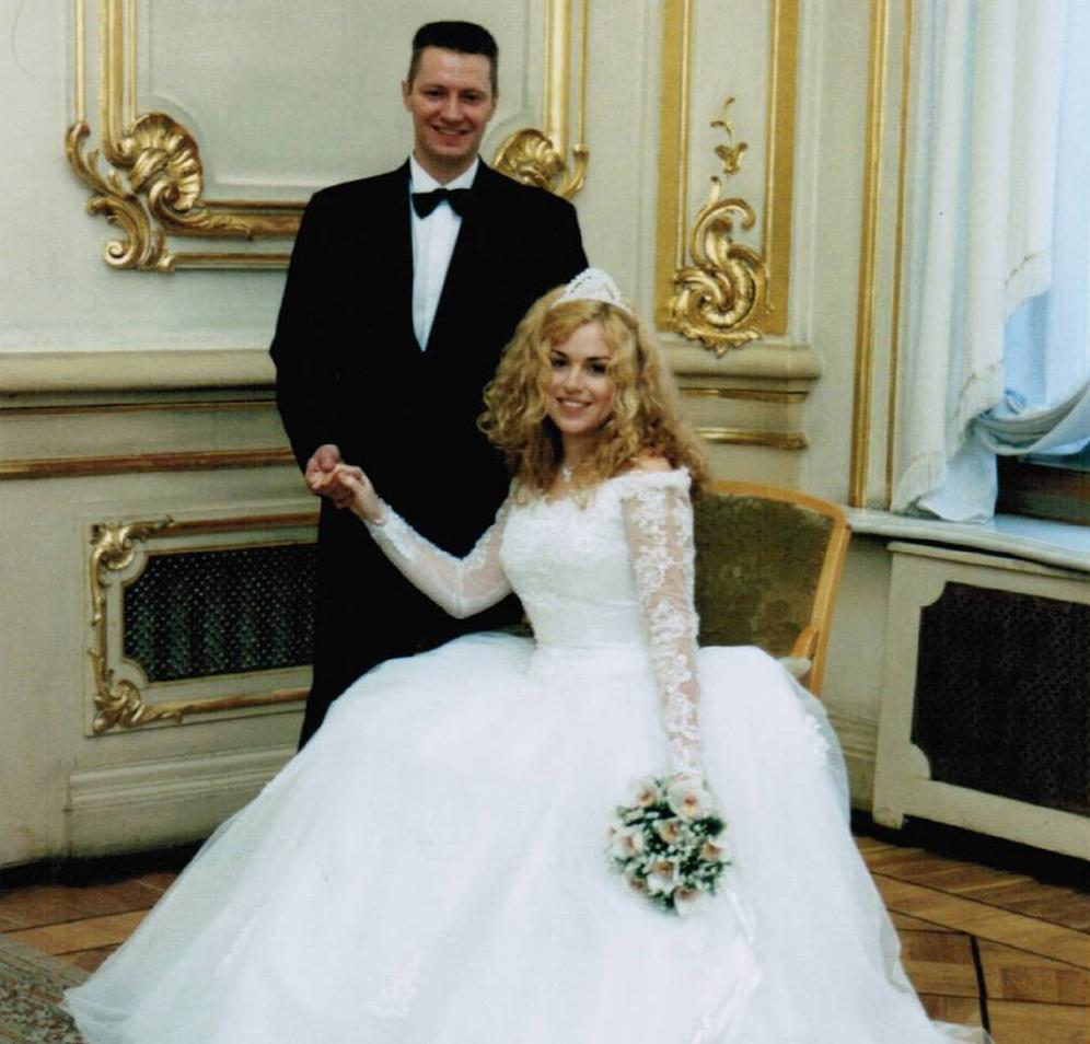 Наталья Закхайм с мужем Андреем Красновым