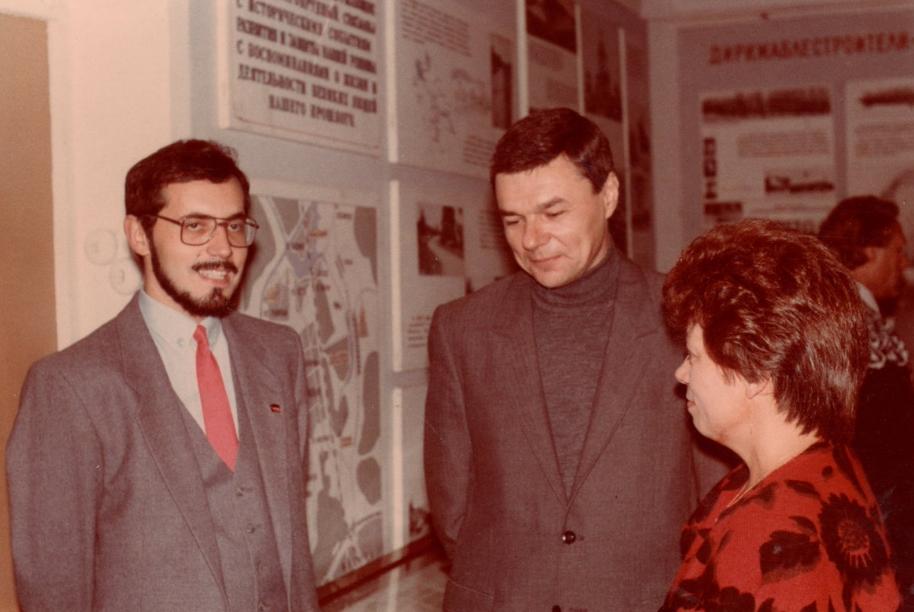 Борис Надеждин студент