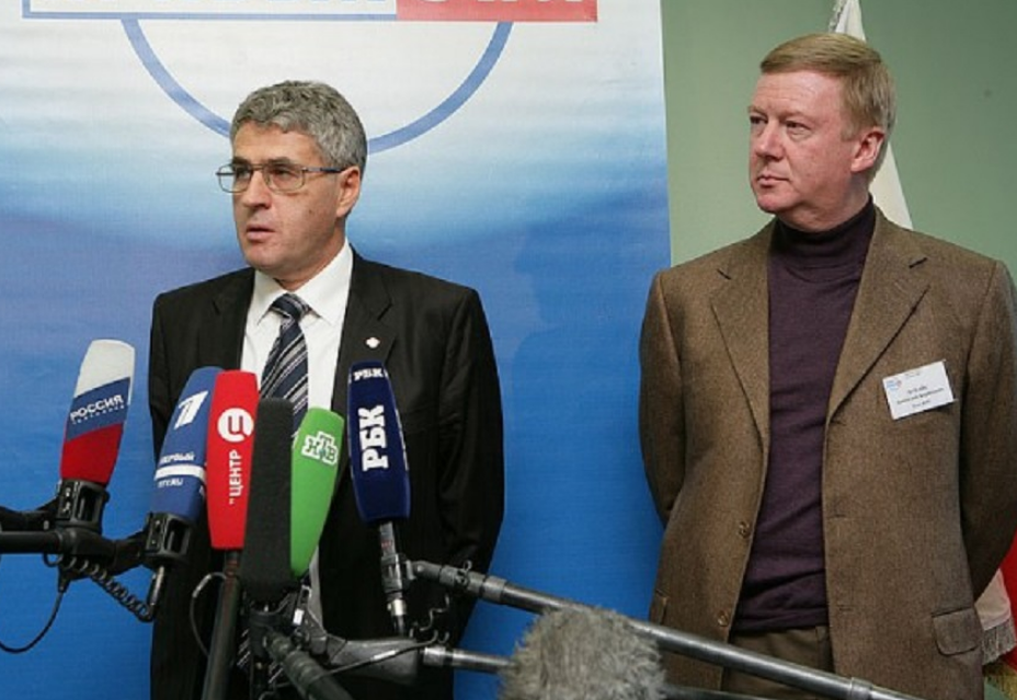 Леонид Гозман и Анатолий Чубайс