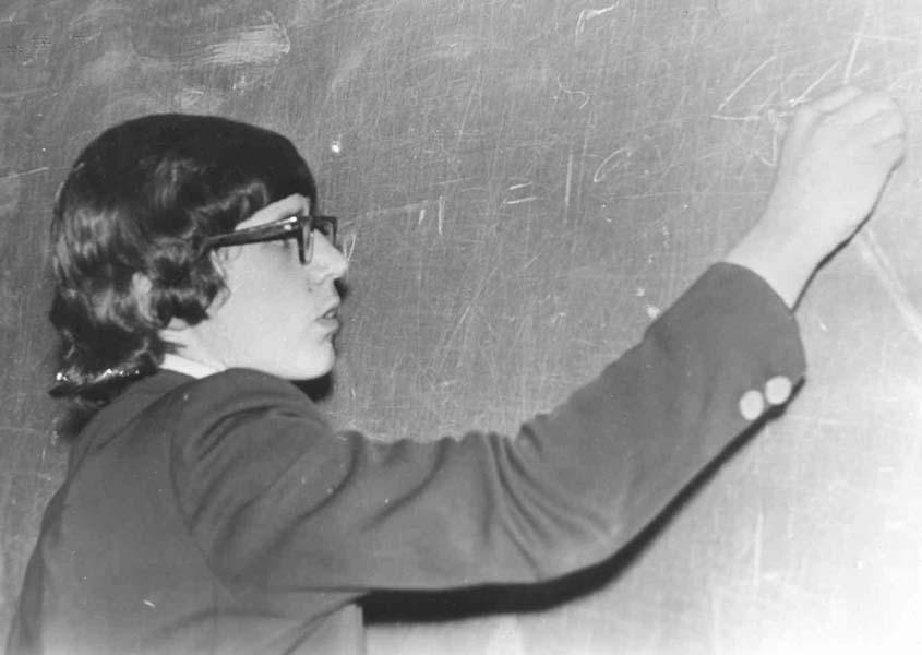 Борис Надеждин в школьные годы