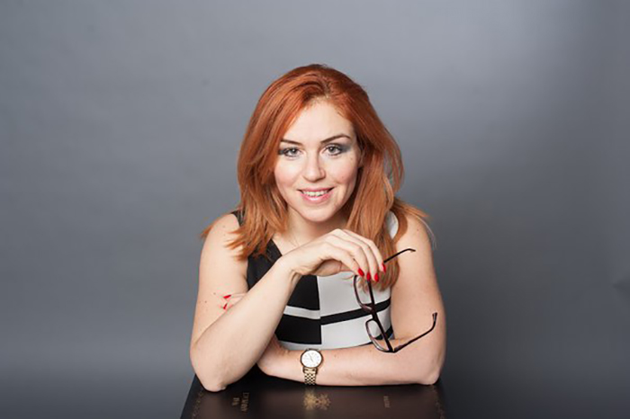 Наталья Закхайм в молодости