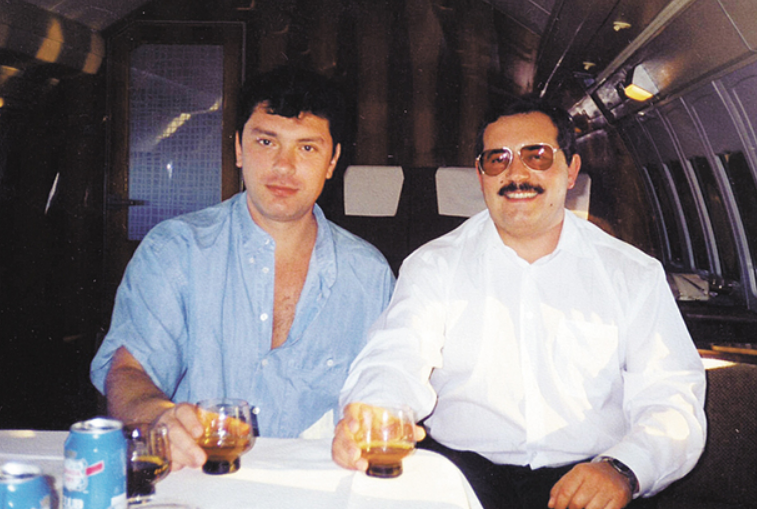 Борис Немцов и Борис Надеждин