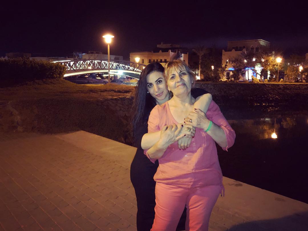 Аида Мартиросян с мамой