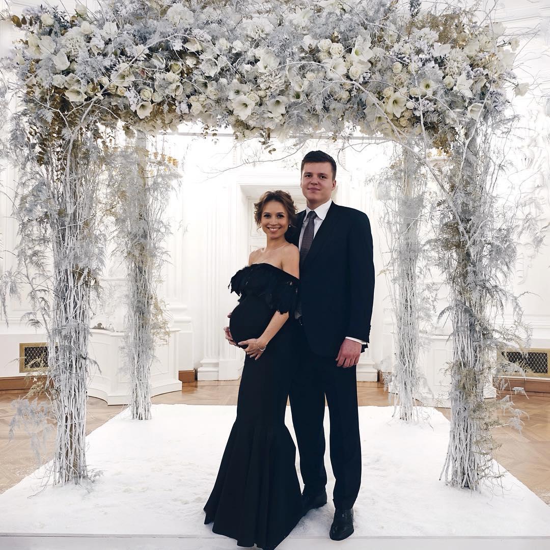 Валерия Чекалина с мужем