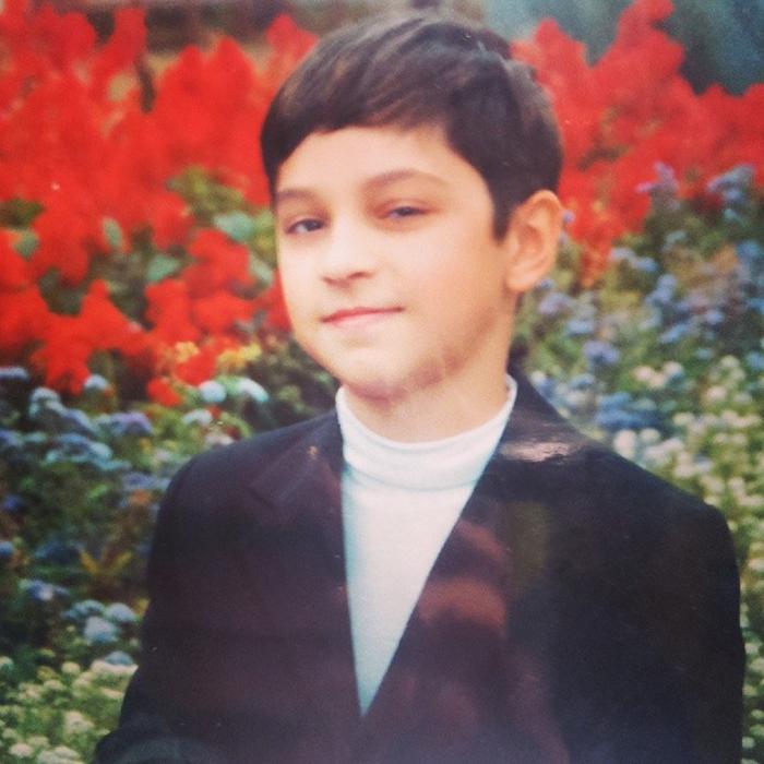 Марат Газманов в детстве