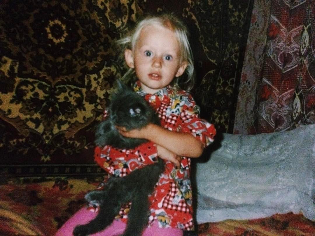 Саша Бортич в детстве