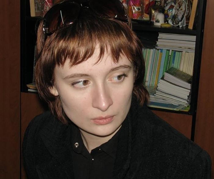 Ева Бергер в юности