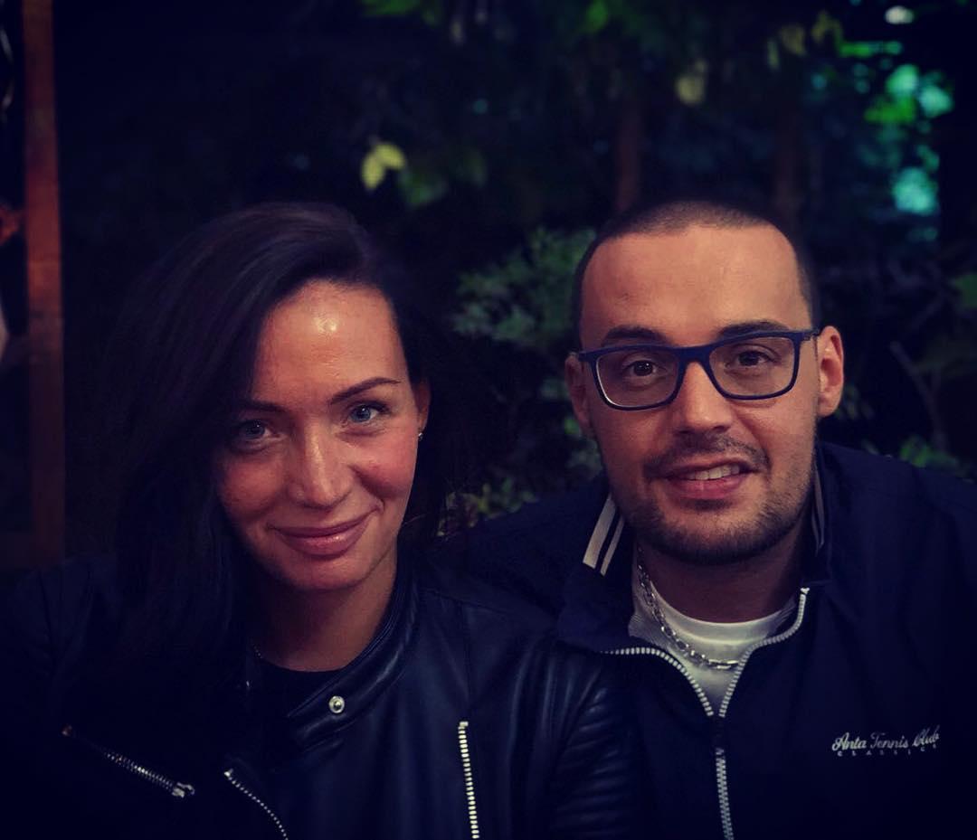Ольга Долматова с Гуфом