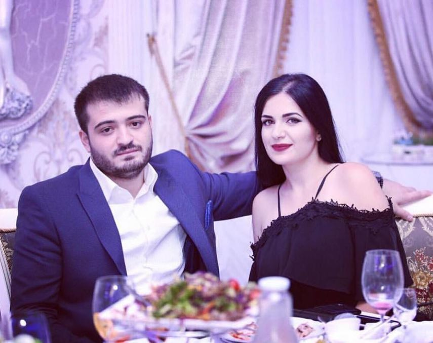 Анжелика Рамазян с мужем