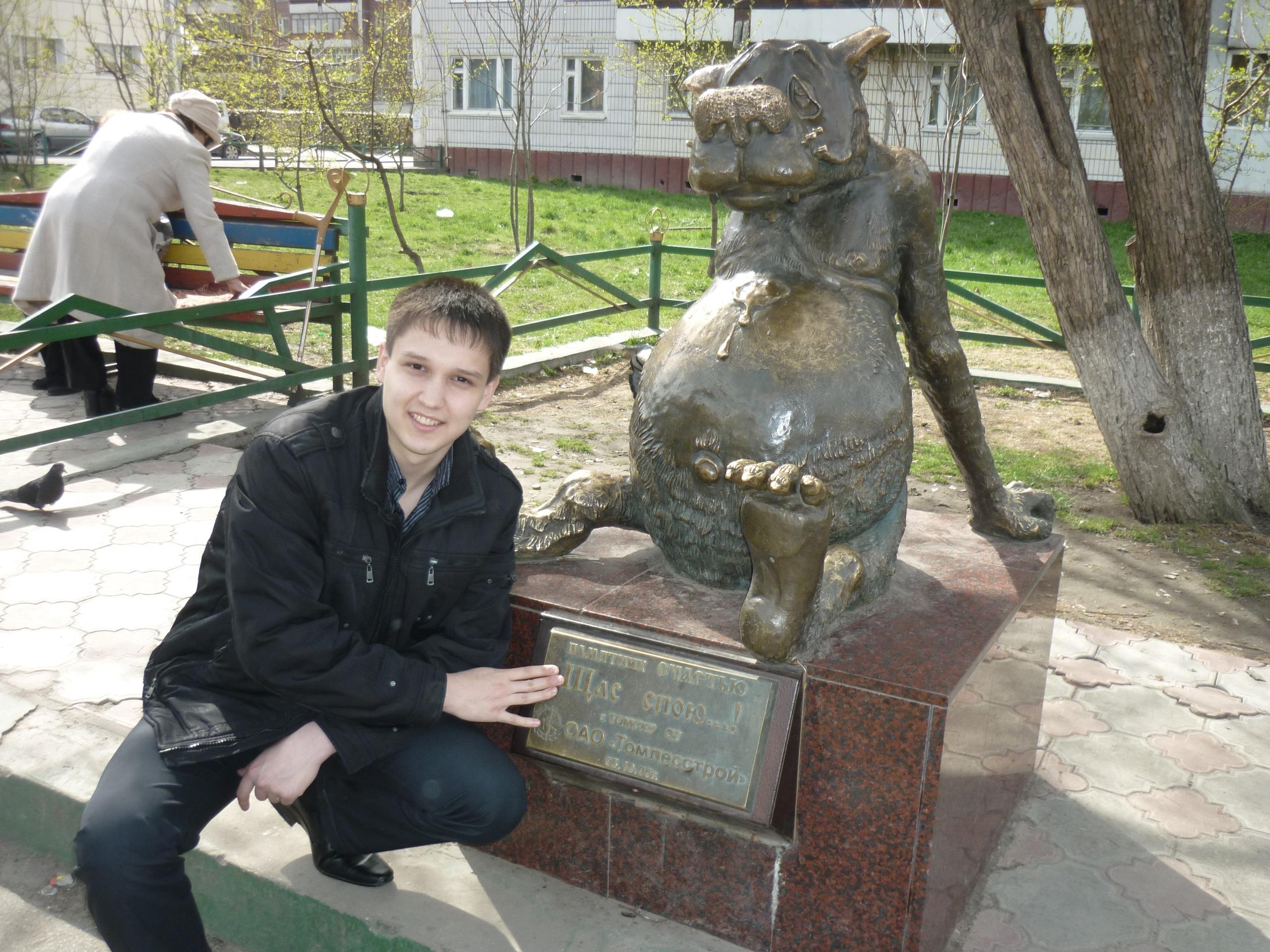 Денис Антипов в детстве