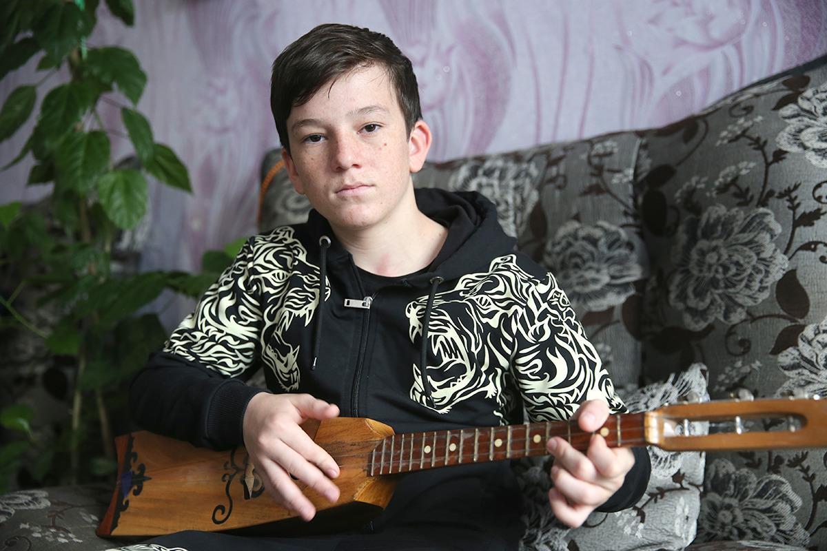 певец Юсуп Алиев