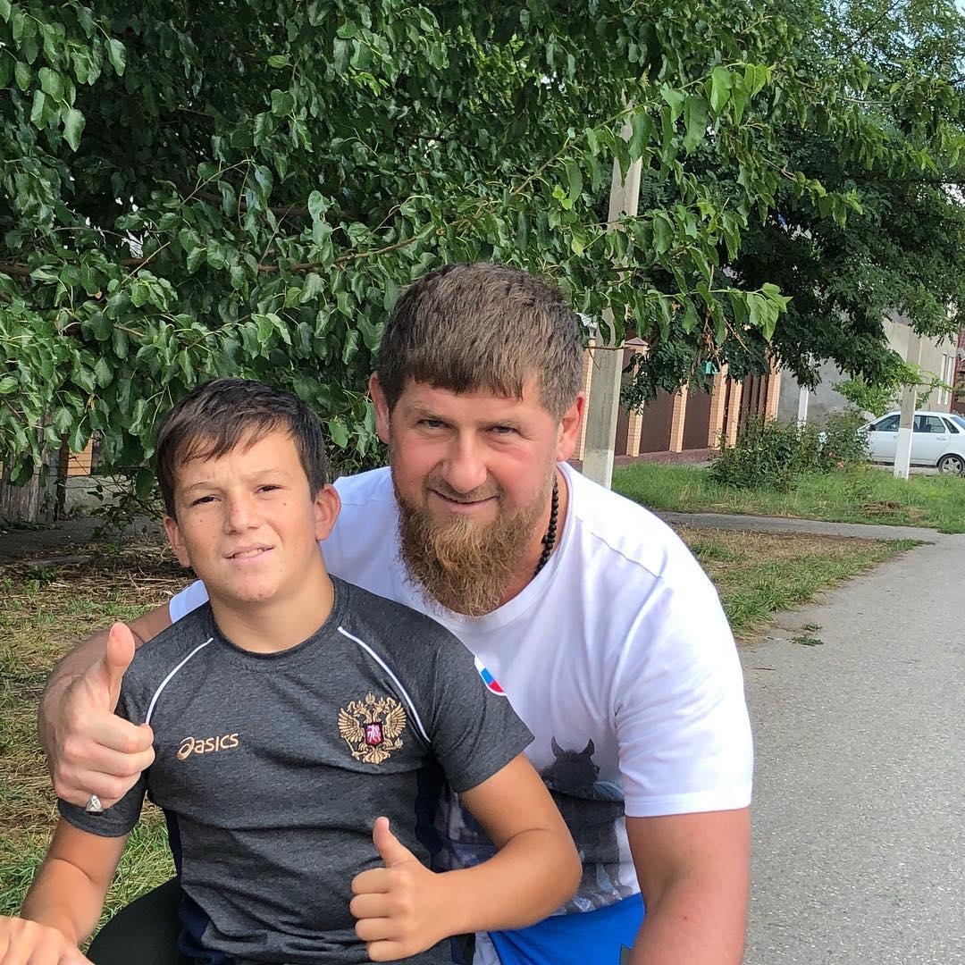 Рамзан Кадыров и юсуп алиев