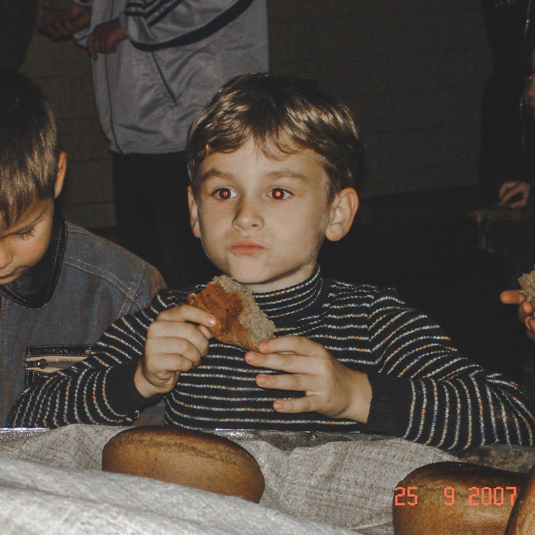 Брайн Мапс в детстве