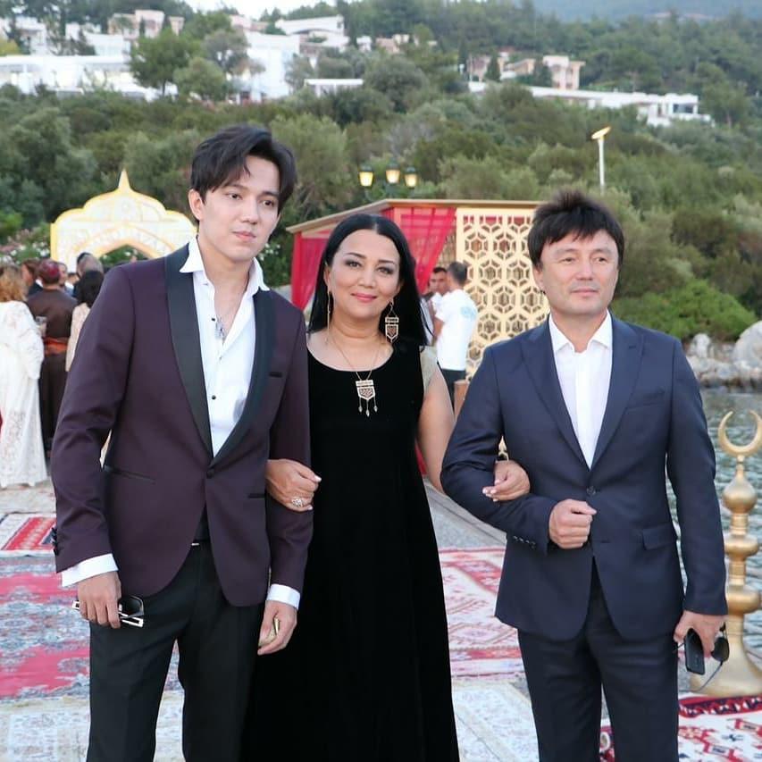 Айтбаева Светлана с мужем и сыном