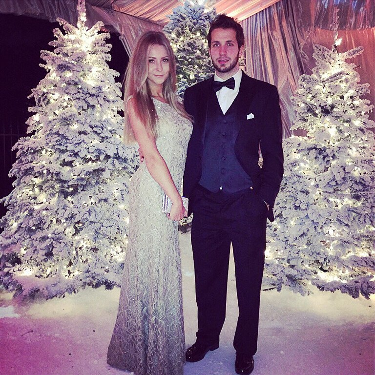 Никита Кучеров с женой