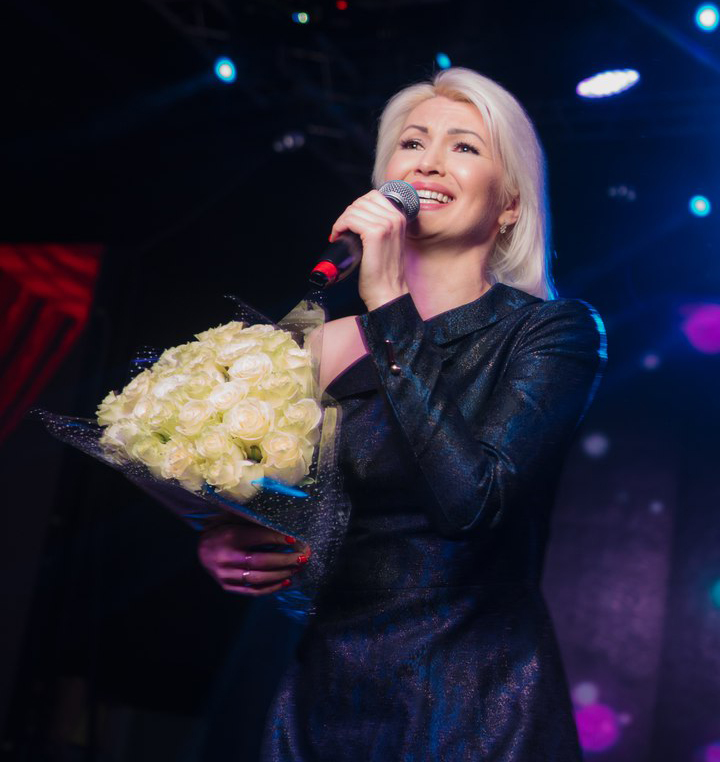 Ландыш Нигматжанова на сцене