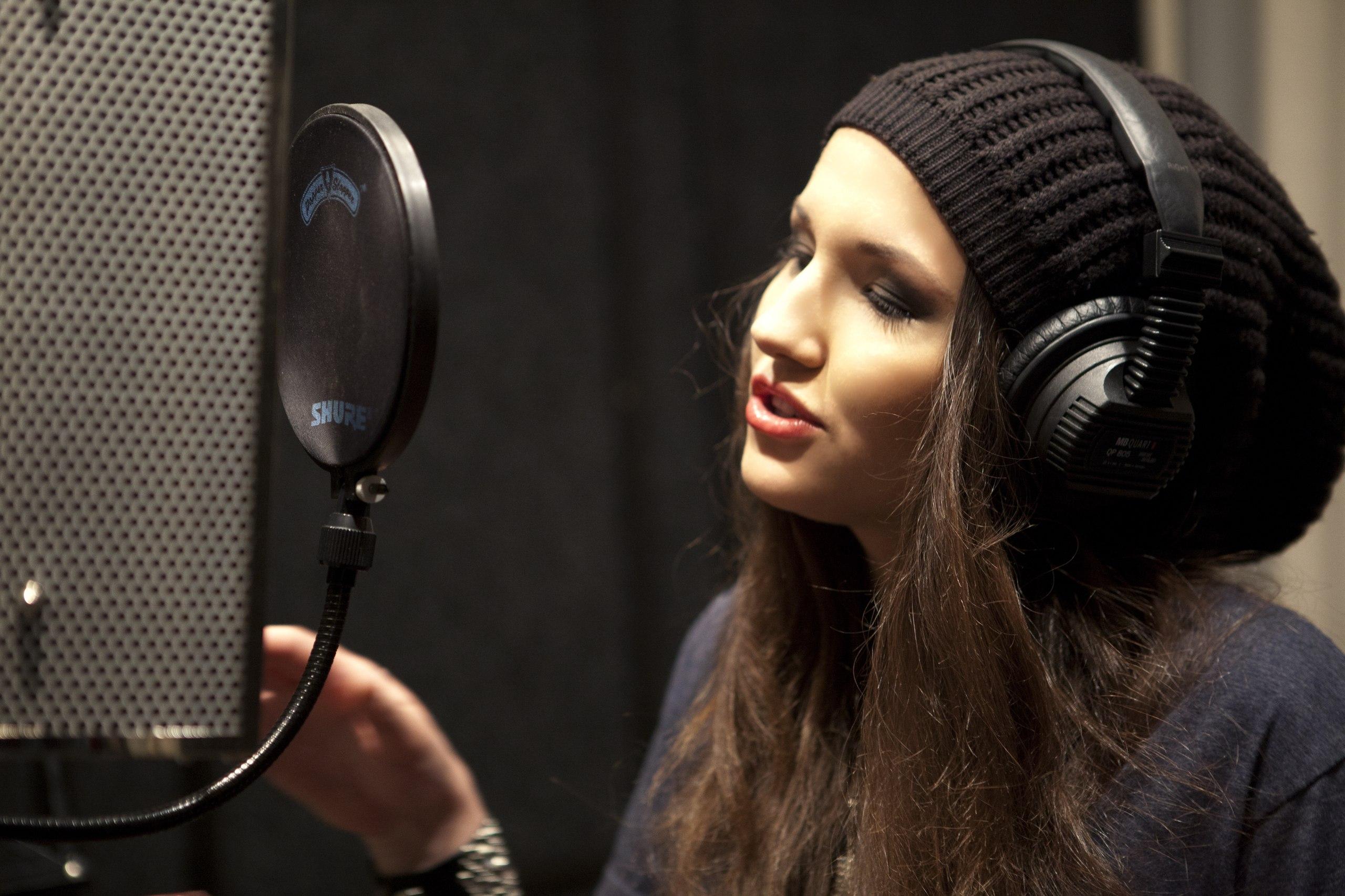 певица Анастасия Дунаева