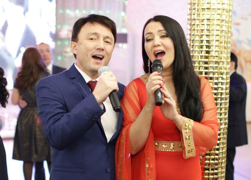 Айтбаева Светлана с мужем