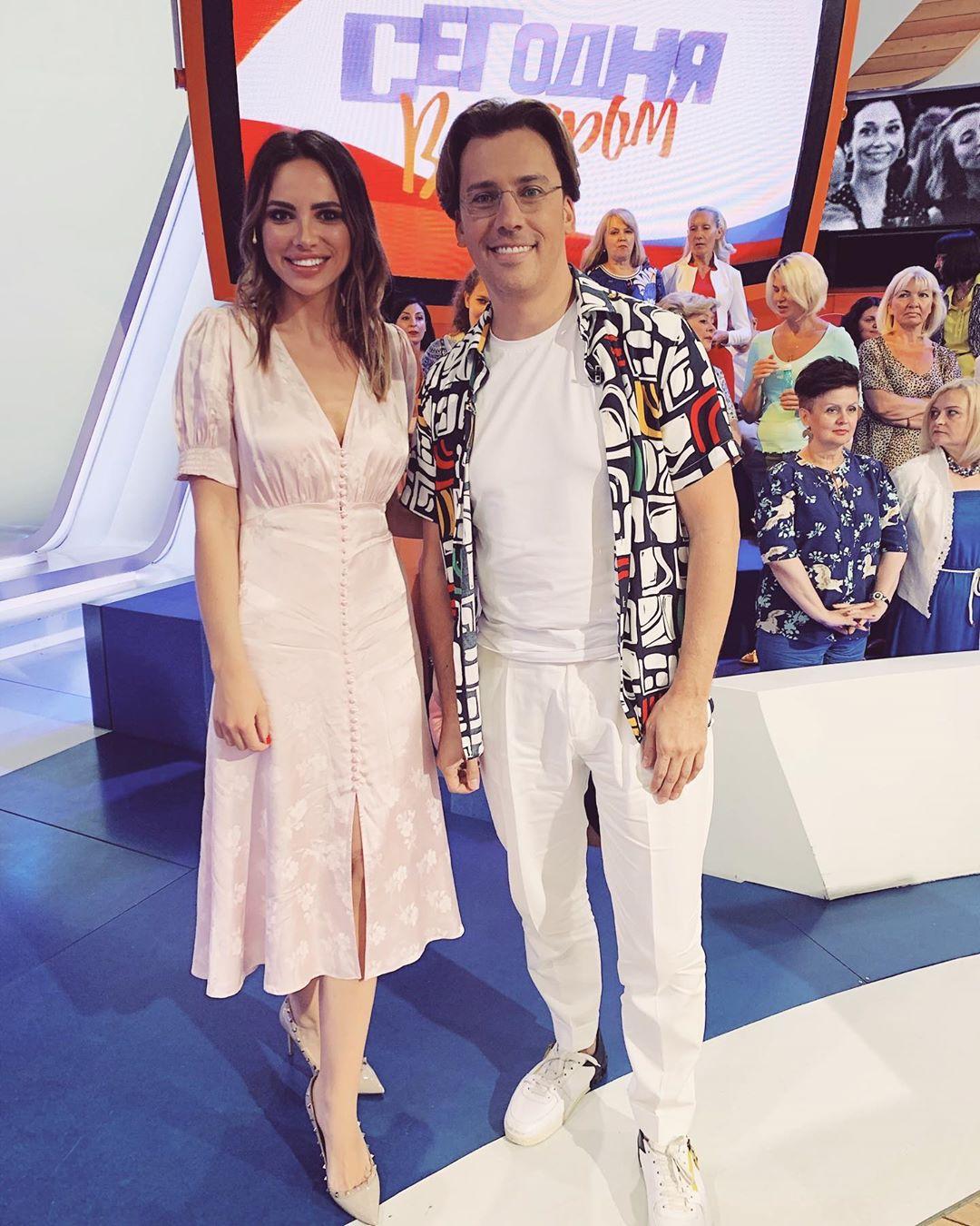 Лиза Шатилова на первом канале