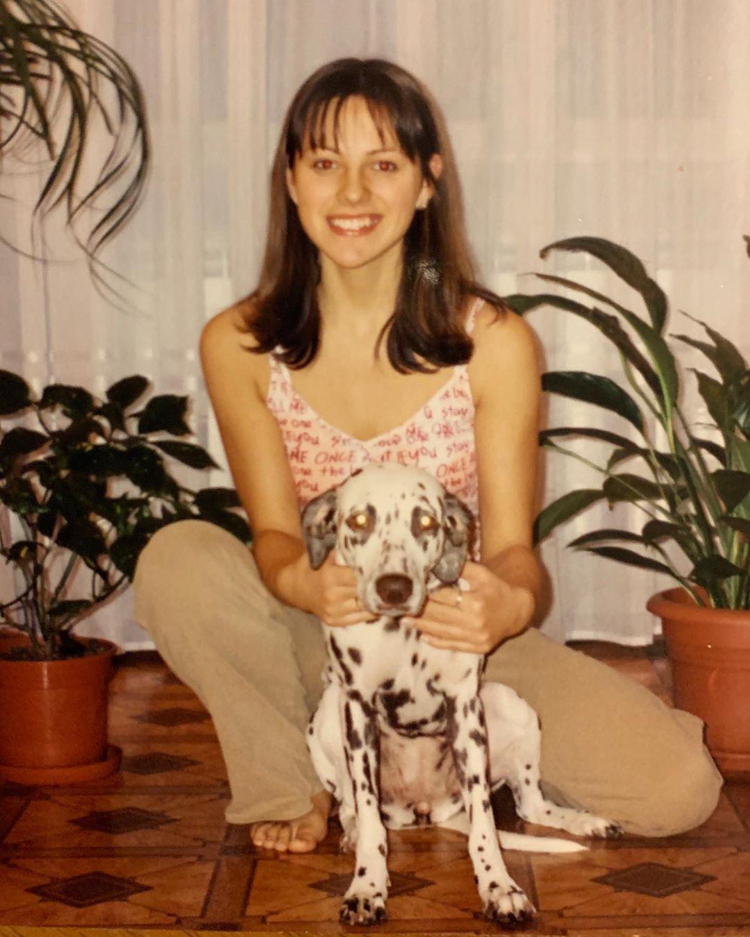 Елизавета Шатилова в школьные годы
