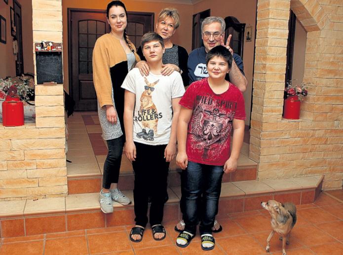 семья Юлии Норкиной
