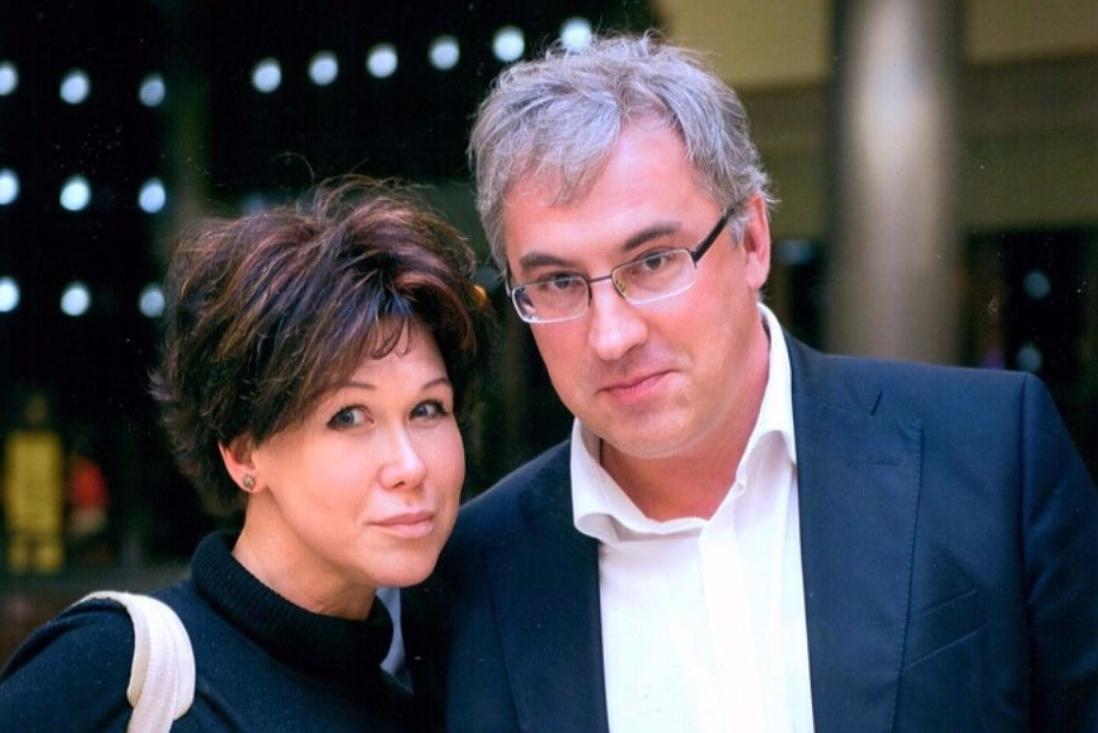 Юлия Норкина с мужем Андреем Норкиным