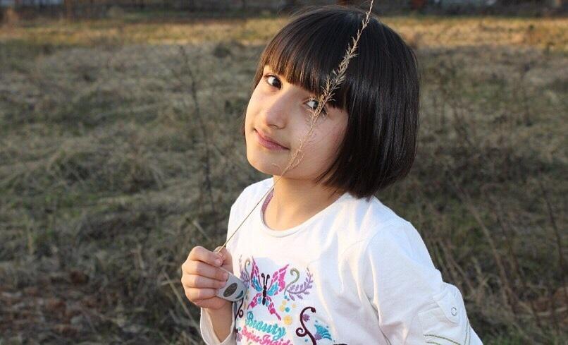 Амина Мирзоева в детстве