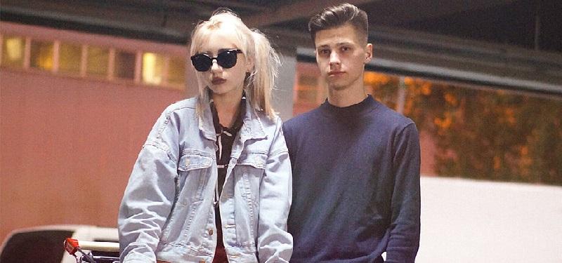 Черникин Роберт с девушкой