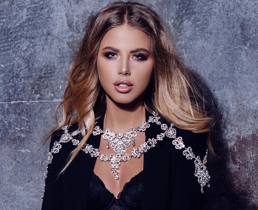 Екатерина Дорожко на конкурсе красоты