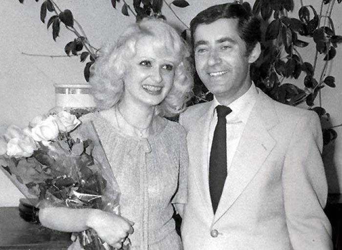 Елена Зайцева с мужем Рольфом Нойманном