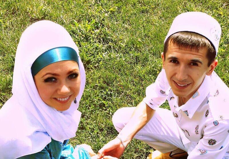 Рифат Зарипов с женой
