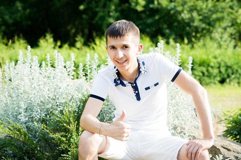 Рифат Зарипов в юности