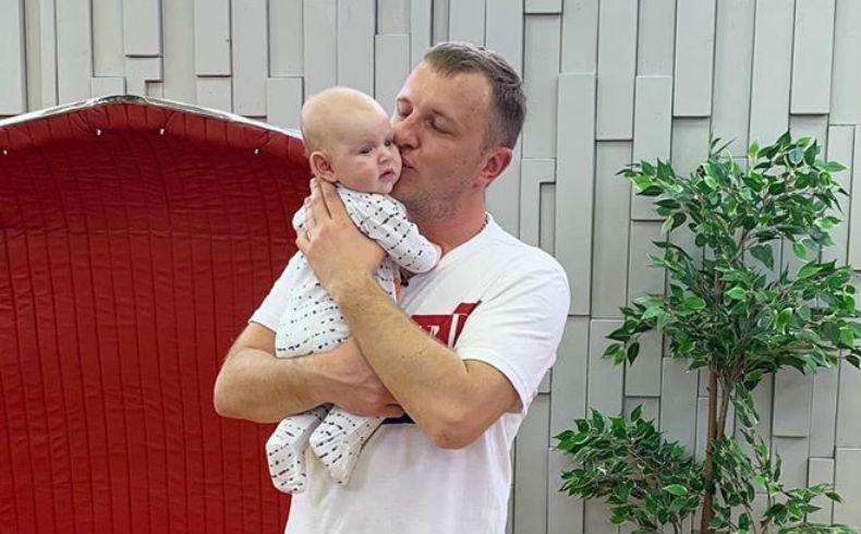 Яббаров с сыном Богданом
