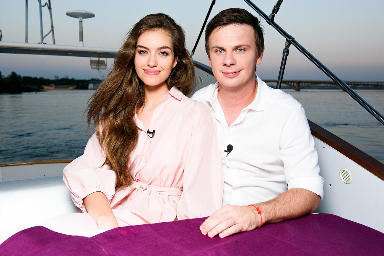 Дмитрий и Александра комаровы